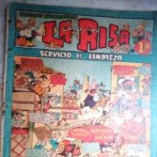 Tebeos: LA RISA - II ÉPOCA- Nº 21 -GRANDES EMILI BOIX-MARTÍNEZ OSETE-J. RIZO-1954-CORRECTO-DIFÍCIL-LEAN-2421. Lote 184211377
