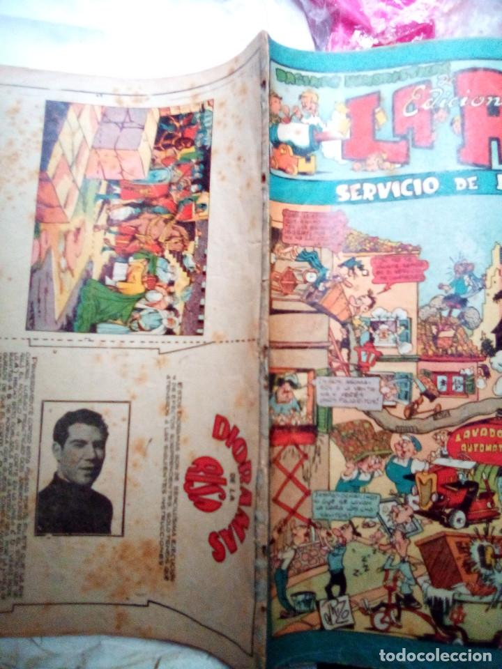 Tebeos: LA RISA - II ÉPOCA- Nº 21 -GRANDES EMILI BOIX-MARTÍNEZ OSETE-J. RIZO-1954-CORRECTO-DIFÍCIL-LEAN-2421 - Foto 2 - 184211377