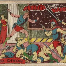 Tebeos: RED DIXON Nº 3 ASTUCIA CONTRA VALOR - ORIGINAL 1ª SERIE A.1954. Lote 184415290