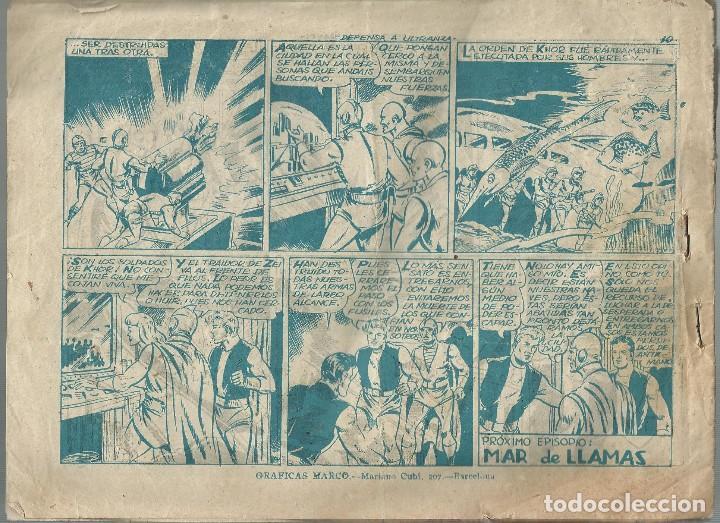 Tebeos: RED DIXON Nº 11 - DEFENSA A ULTRANZA - Original 3ª serie a.1957 - Foto 2 - 184415441
