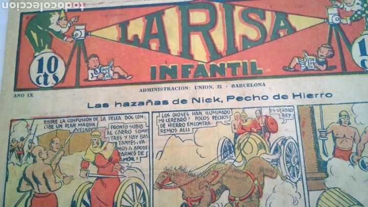 LA RISA , INFANTIL , NÚMERO 579 , MARCO , AÑOS 30 (Tebeos y Comics - Marco - La Risa)