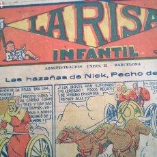Tebeos: LA RISA , INFANTIL , NÚMERO 579 , MARCO , AÑOS 30. Lote 184430297