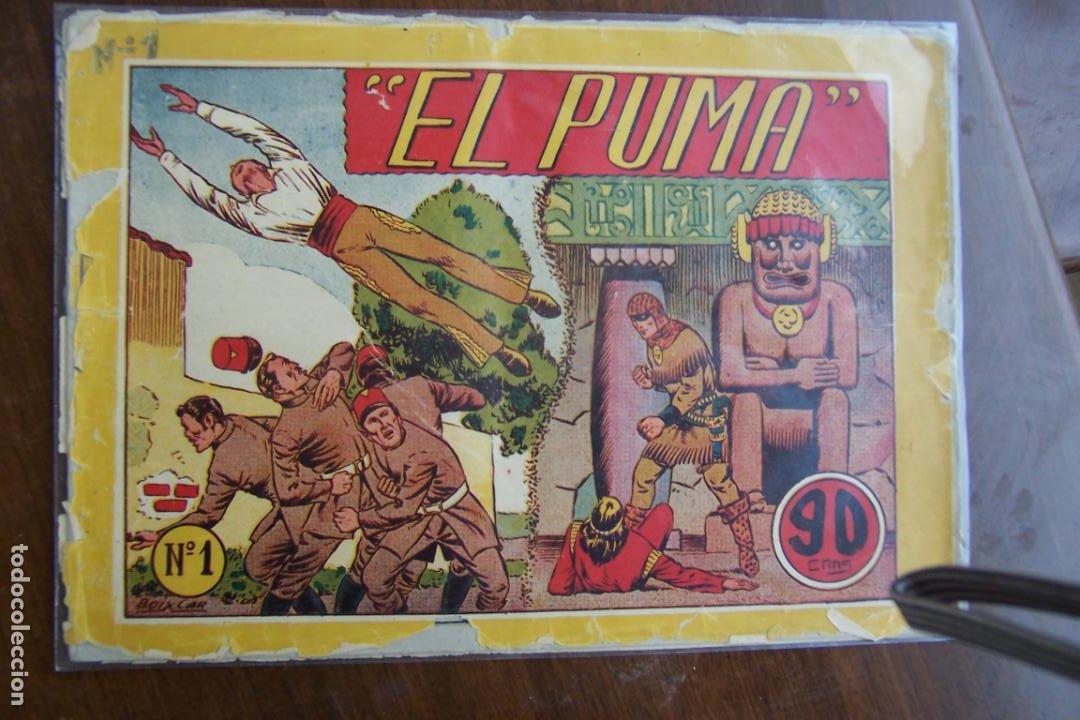 Tebeos: marco lote del puma de boixcar nº 1- 9 - 11 - 12-16 y el 5 sin contraportada - Foto 11 - 38780033
