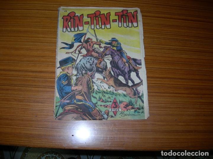 RIN TIN TIN Nº 49 EDITA MARCO (Tebeos y Comics - Marco - Rin-Tin-Tin)