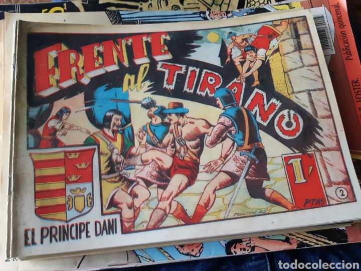 Tebeos: TEBEOS-CÓMICS CANDY - EL PRINCIPE DANI - COMPLETA - MARCO 1950 - MARTÍNEZ OSETE - AA99 - Foto 2 - 185894237