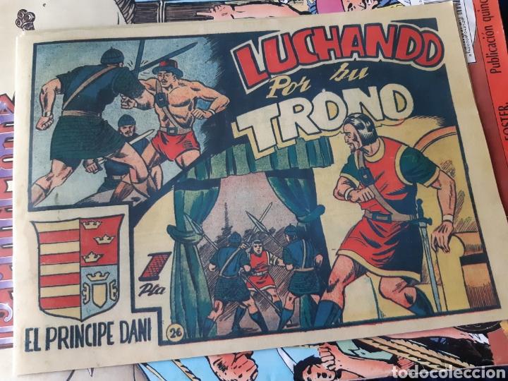 Tebeos: TEBEOS-CÓMICS CANDY - EL PRINCIPE DANI - COMPLETA - MARCO 1950 - MARTÍNEZ OSETE - AA99 - Foto 6 - 185894237