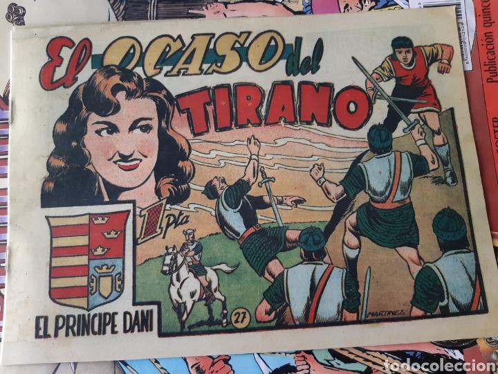 Tebeos: TEBEOS-CÓMICS CANDY - EL PRINCIPE DANI - COMPLETA - MARCO 1950 - MARTÍNEZ OSETE - AA99 - Foto 7 - 185894237