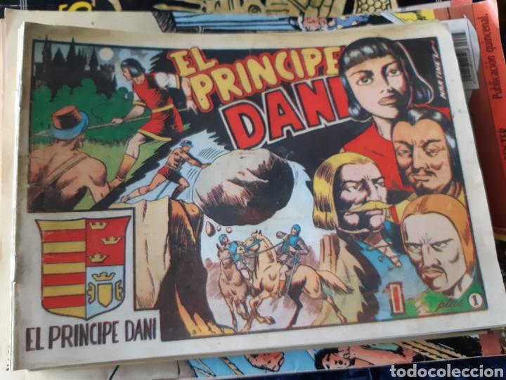 TEBEOS-CÓMICS CANDY - EL PRINCIPE DANI - COMPLETA - MARCO 1950 - MARTÍNEZ OSETE - AA99 (Tebeos y Comics - Marco - Otros)
