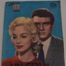 Tebeos: COLECCIÓN 17 AÑOS Nº 16 - UN GRAN AMOR - EDITORIAL MARCO - AÑO 1958. Lote 185966505