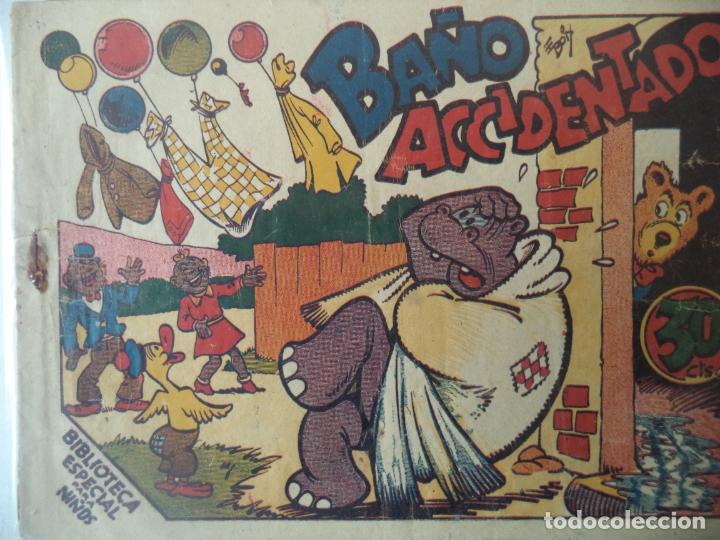 BAÑO ACCIDENTADO ORIGINAL BUENA CONSERVACION (Tebeos y Comics - Marco - Hipo (Biblioteca especial))
