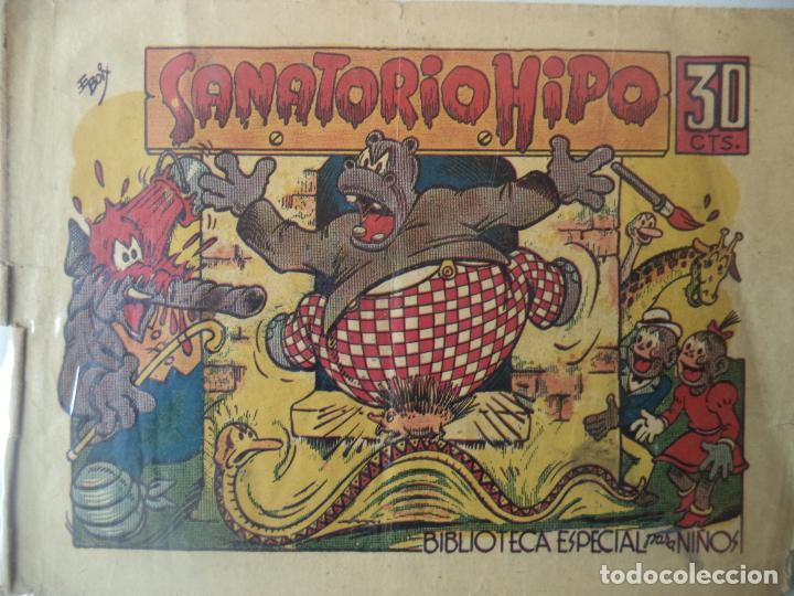 SANATORIO HIPO ORIGINAL BIEN CONSERVADO (Tebeos y Comics - Marco - Hipo (Biblioteca especial))