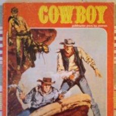 Tebeos: COWBOY - Nº 28 - ACCIDENTE EN LA MINA - URSUS EDICIONES . Lote 186156711