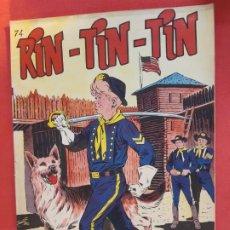 Tebeos: RIN-TIN-TIN Nº 74 EDITORIAL MARCO EXCELENTE ESTADO. Lote 188745996