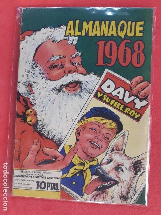 RIN-TIN-TIN ALMANAQUE 1968 EDITORIAL MARCO EXCELENTE ESTADO (Tebeos y Comics - Marco - Rin-Tin-Tin)