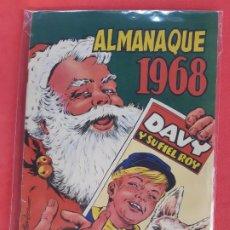Tebeos: RIN-TIN-TIN ALMANAQUE 1968 EDITORIAL MARCO EXCELENTE ESTADO. Lote 188793958