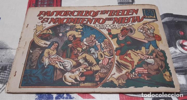 PASTORCILLOS EN BELÉN - EDITORIAL MARCO / MONOGRÁFICO (COL. GRÁFICA PARA NIÑOS) (Tebeos y Comics - Marco - Otros)