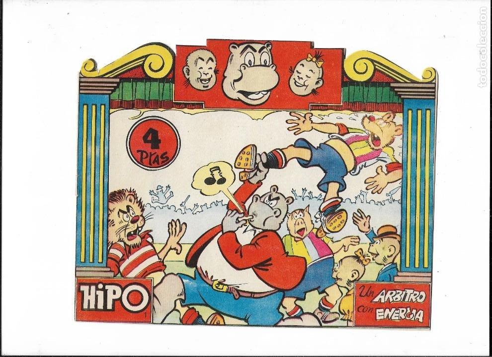 HIPO COLOR, AÑO 1962. COLECCIÓN COMPLETA SON 6. TEBEOS ORIGINALES DIBUJADA POR E. BOIX. (Tebeos y Comics - Marco - Hipo (Biblioteca especial))