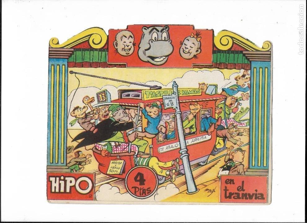 Tebeos: Hipo Color, Año 1962. Colección Completa son 6. Tebeos Originales Dibujada por E. Boix. - Foto 3 - 189718006