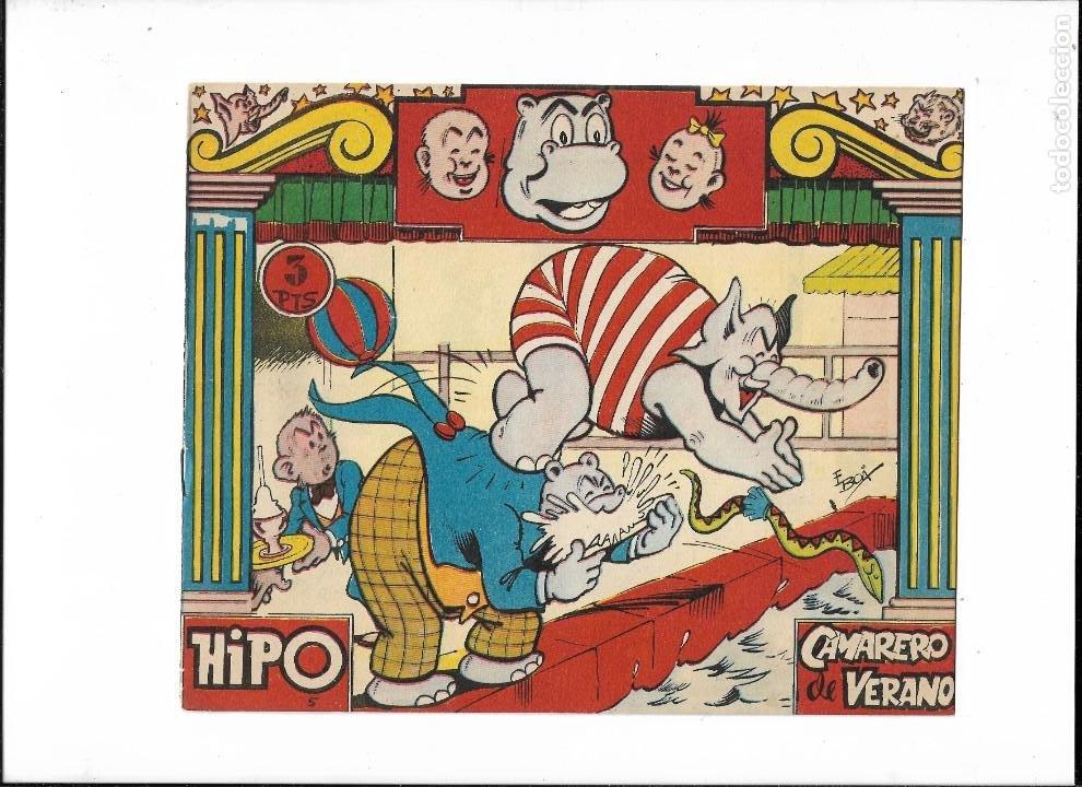 Tebeos: Hipo Color, Año 1962. Colección Completa son 6. Tebeos Originales Dibujada por E. Boix. - Foto 9 - 189718006