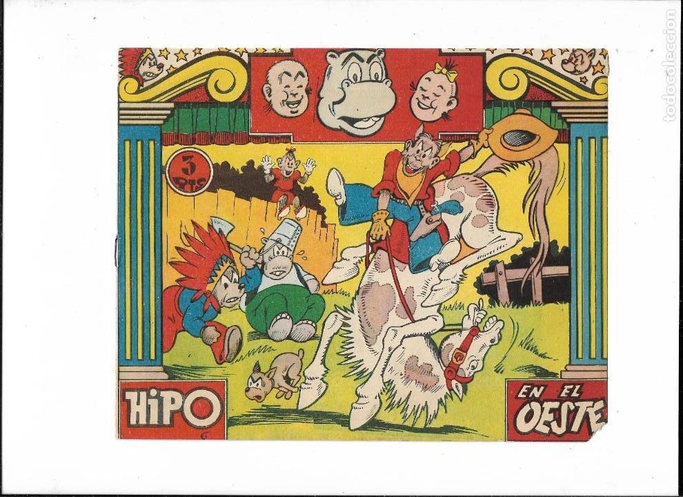 Tebeos: Hipo Color, Año 1962. Colección Completa son 6. Tebeos Originales Dibujada por E. Boix. - Foto 11 - 189718006