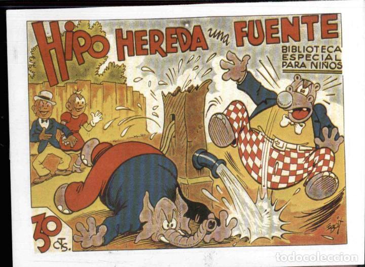 Tebeos: BIBLIOTECA ESPECIAL PARA NIÑOS, Lote 36 Nºs HIPO.... , REEDICCION - Foto 14 - 189744150