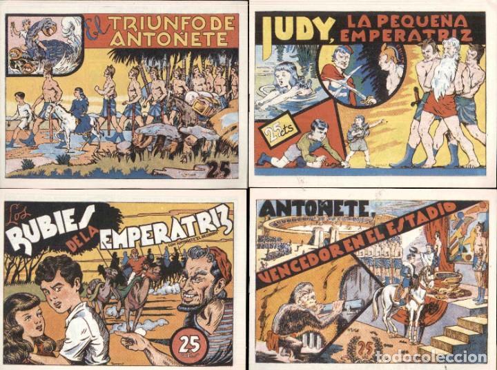 Tebeos: ANTOÑETE EL DECIDIDO (1943, HISPANO AMERICANA) 8 Numeros REEDICCION - Foto 2 - 189761891