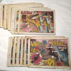 Tebeos: RED DIXON SEGUNDA SERIE AÑO 1955 LOTE 25 CÓMICS, LISTA PUBLICADA. Lote 190136915