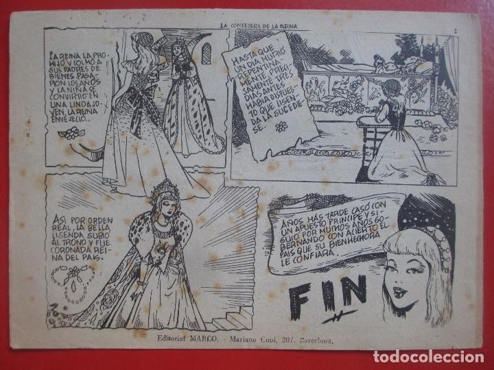 Tebeos: TEBEO LA CONSEJERA DE LA REINA CUENTO DE HADAS COLECCION MARI - LU Nº60 ED. MARCO - Foto 2 - 191602612
