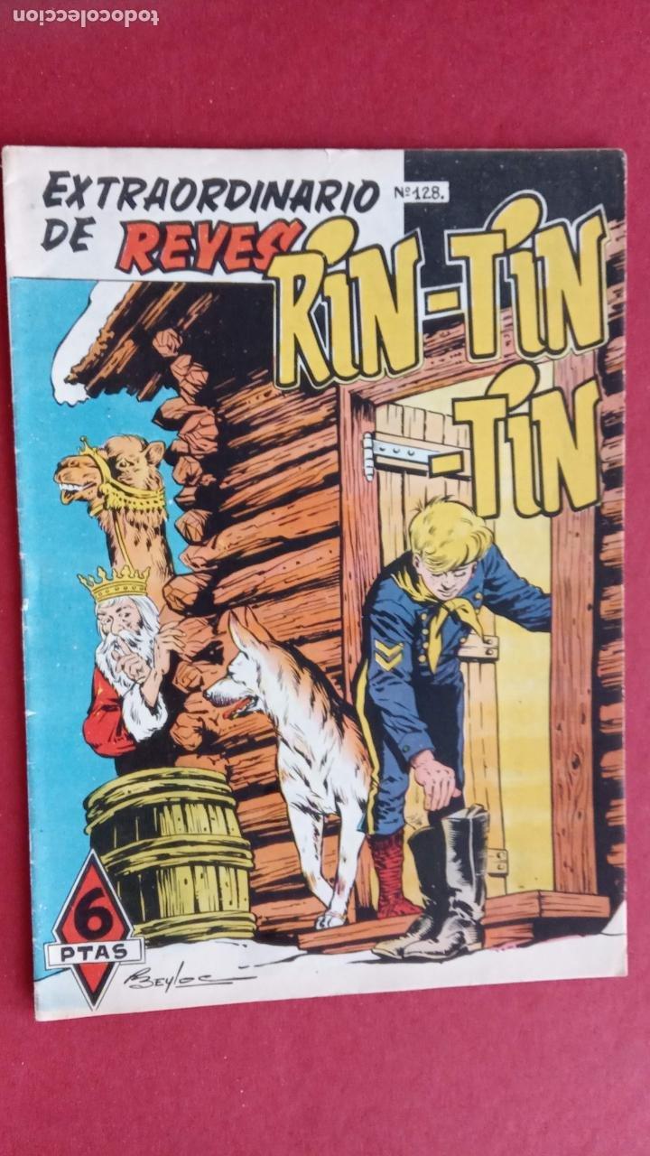 RINTINTIN - RIN TIN TIN - ORIGINAL Nº 128 ALMANAQUE DE REYES - MARTÍNEZ OSETE, BEYLOC, CASTILLO, (Tebeos y Comics - Marco - Rin-Tin-Tin)