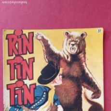 Tebeos: RINTINTIN - RIN TIN TIN -ORIGINAL Nº 37 MUY BUEN ESTADO. Lote 191653007