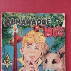 Tebeos: RINTINTIN - RIN TIN TIN - ORIGINAL Nº ALMANAQUE 1963. Lote 191654121