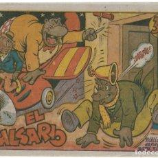 Tebeos: EL FALSARIO DE 35 CTS- MARCO 1942 B. ESPECIAL MUY BUEN ESTADO.- LEER Y VER FOTOS. Lote 191970777