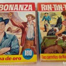 Tebeos: LIBROS RIN-TIN-TIN Y BONANZA. Lote 192646775