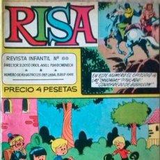 Tebeos: (LA) RISA- Nº 88 - GRAN RAF-RIN TIN TIN-PAÑELLA-J.CASTILLO-1968-BUENO-MUY ESCASO Y DIFÍCIL-3023. Lote 192826585