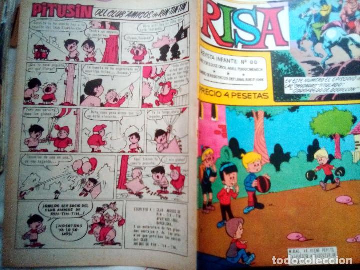 Tebeos: (LA) RISA- Nº 88 - GRAN RAF-RIN TIN TIN-PAÑELLA-J.CASTILLO-1968-BUENO-MUY ESCASO Y DIFÍCIL-3023 - Foto 3 - 192826585
