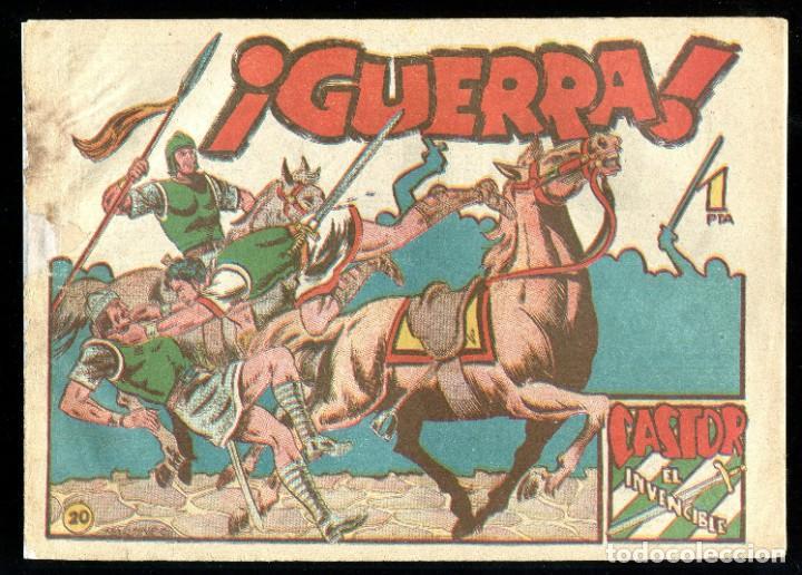 CASTOR EL INVENCIBLE - EDITORIAL MARCO / NÚMERO 20 (Tebeos y Comics - Marco - Castor el Invencible)