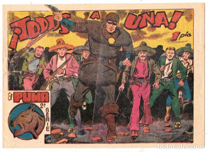 EL PUMA, TODOS A UNA . NUMERO 26. ORIGINAL. (Tebeos y Comics - Marco - Otros)