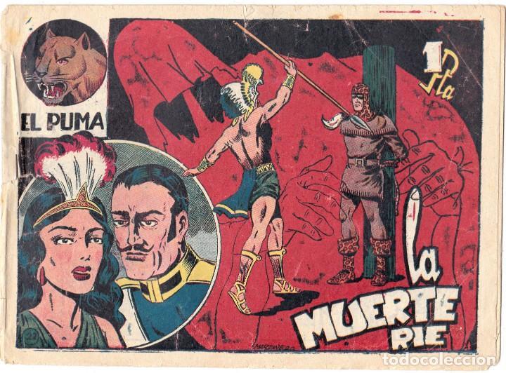 EL PUMA Nº 22. 1ª SERIE - LA MUERTE RIE - EDITORIAL MARCO - ORIGINAL (Tebeos y Comics - Marco - Otros)