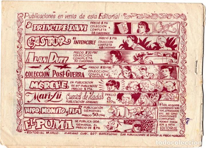 Tebeos: EL PUMA Nº 22. 1ª SERIE - LA MUERTE RIE - EDITORIAL MARCO - ORIGINAL - Foto 2 - 193778623