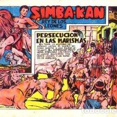 Tebeos: SIMBA KAN (MARCO) Nº 12. Lote 193842846