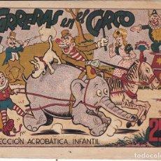 Tebeos: COMIC COLECCION ACROBATICA INFANTIL CARRERAS EN EL CIRCO . Lote 193882906
