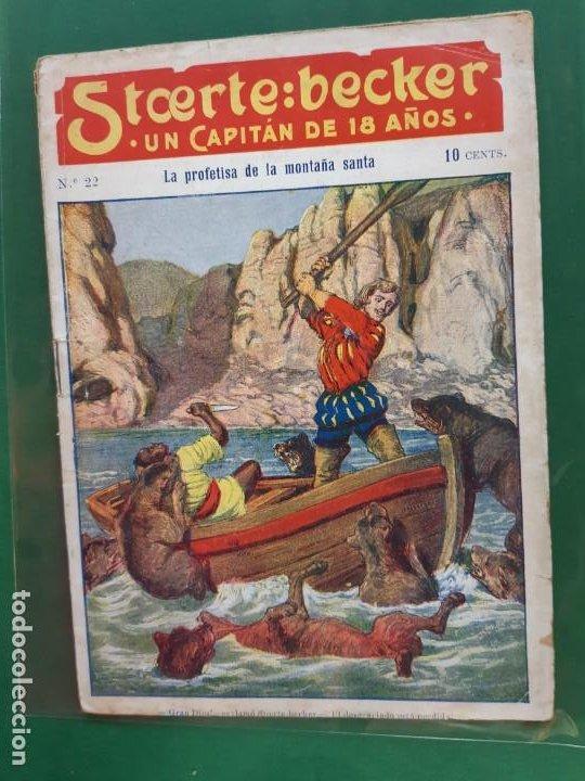 STCERTE: BECKER UN CAPITÁN DE 18 AÑOS Nº 22 AÑO 191? BUEN ESTADO (Tebeos y Comics - Marco - Otros)