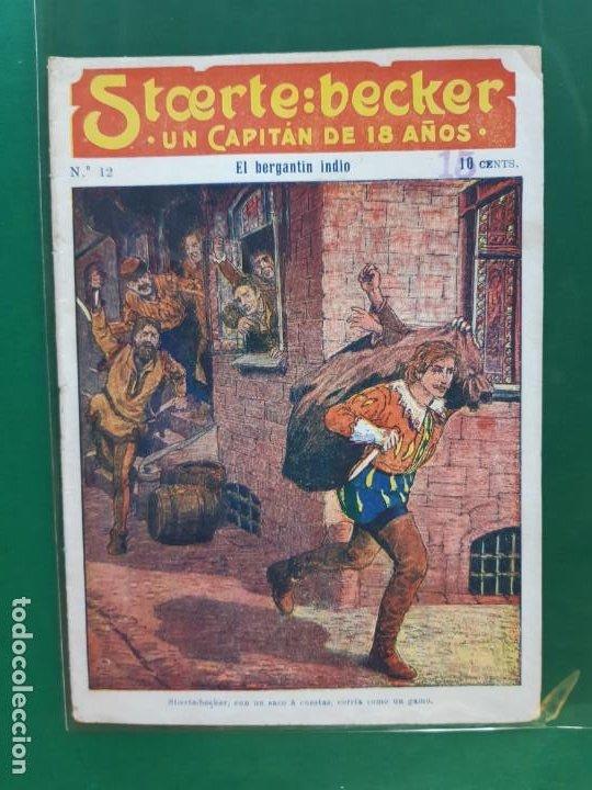 STCERTE: BECKER UN CAPITÁN DE 18 AÑOS Nº 12 AÑO 191? BUEN ESTADO (Tebeos y Comics - Marco - Otros)