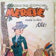 Tebeos: MERCHE HISTORIETAS COMICAS PARA NIÑÁS OLÉ Nº 22 ED. MARCO. Lote 194524796