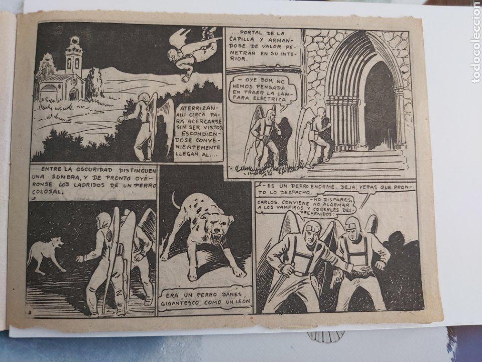 Tebeos: Vampiros del aire 6 El monstruo del campanario original - Foto 3 - 194585290