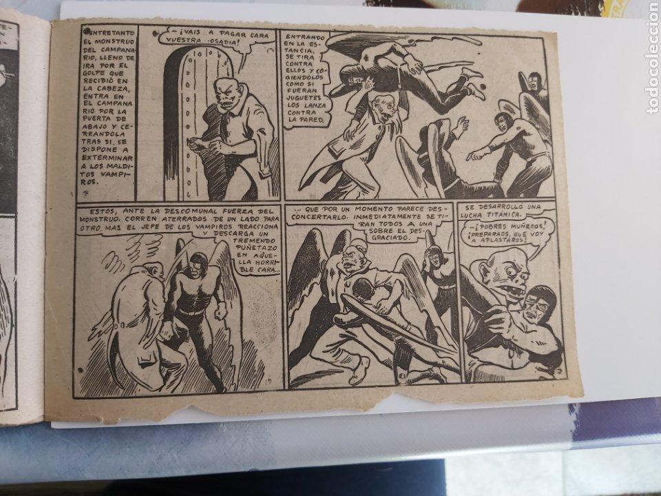 Tebeos: Vampiros del aire 6 El monstruo del campanario original - Foto 4 - 194585290