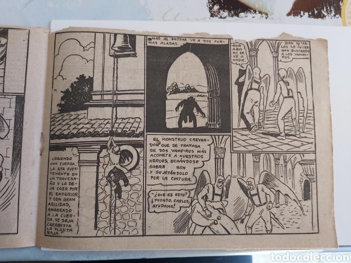 Tebeos: Vampiros del aire 6 El monstruo del campanario original - Foto 5 - 194585290