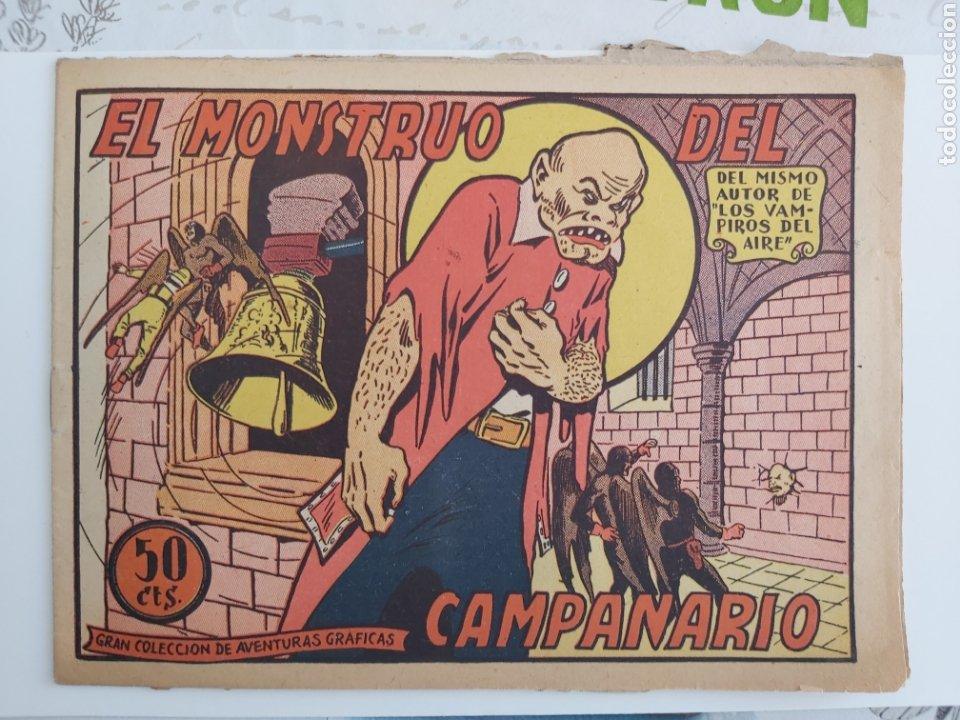 VAMPIROS DEL AIRE 6 EL MONSTRUO DEL CAMPANARIO ORIGINAL (Tebeos y Comics - Marco - Otros)