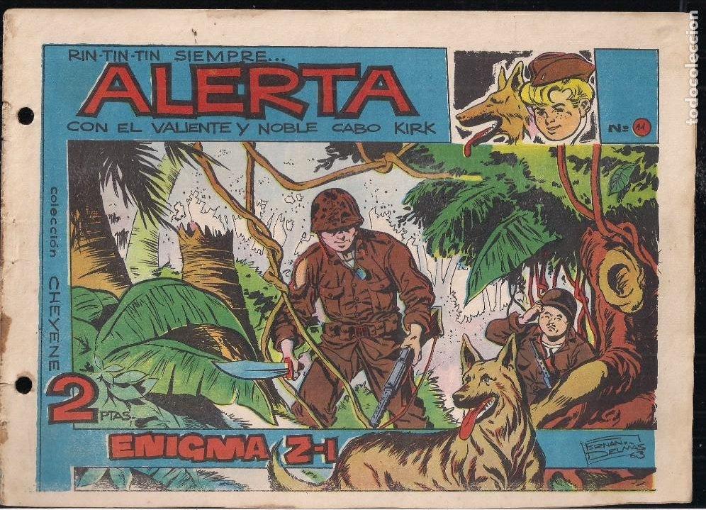RIN TIN TIN SIEMPRE ALERTA Nº 11 (Tebeos y Comics - Marco - Rin-Tin-Tin)