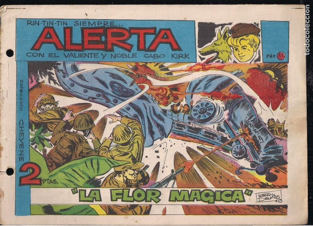 RIN TIN TIN SIEMPRE ALERTA Nº 12 (Tebeos y Comics - Marco - Rin-Tin-Tin)